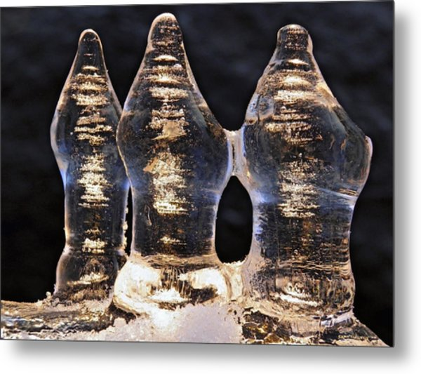 Ice Trio 2 Metal Print
