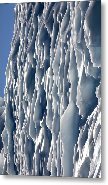 Ice Wall Metal Print by Steve Allen/science Photo Library