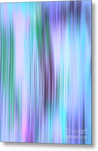 Iced Abstract Metal Print