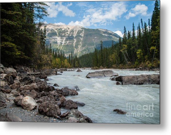 Icefields Parkway 2.0640 Metal Print by Stephen Parker