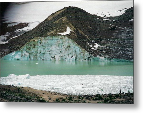 Icefields Metal Print by Shirley Sirois
