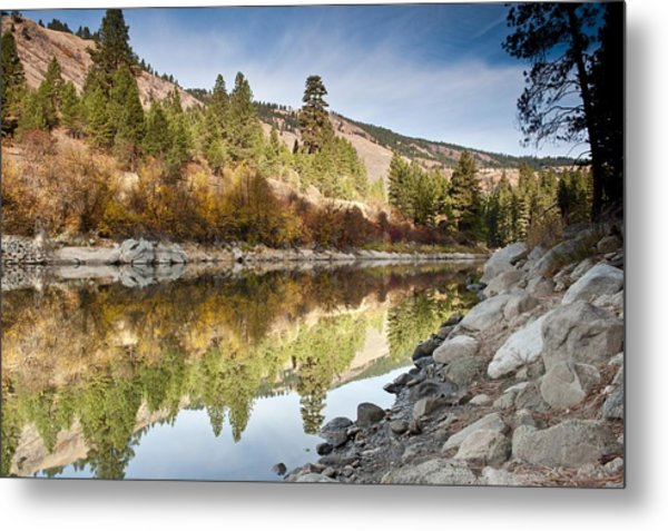 Idaho River  Metal Print