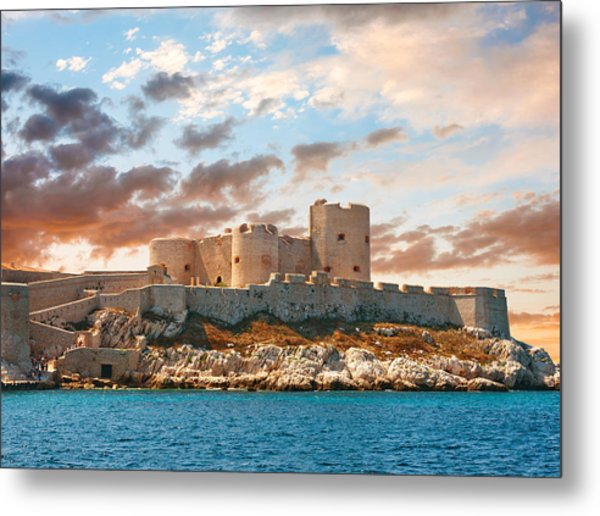 If Castle Metal Print