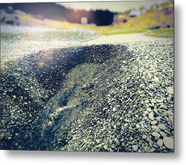 If It Weren't For The Rocks... Metal Print