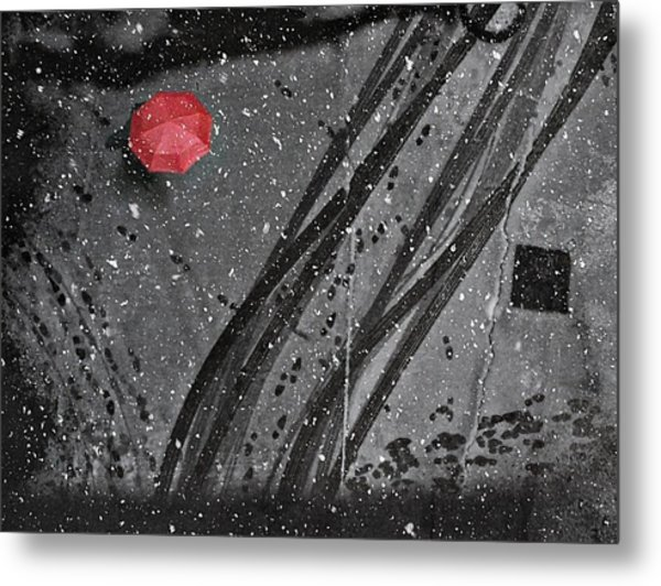 If On A Winter's Day Metal Print by Nicoleta Gabor