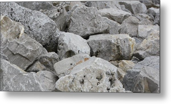 If Rocks Could Talk Metal Print by Terry Scrivner