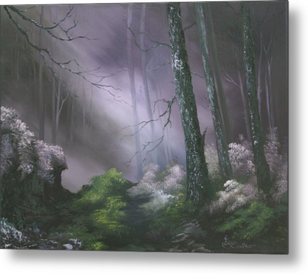 If You Go Down In The Woods Today ? Metal Print