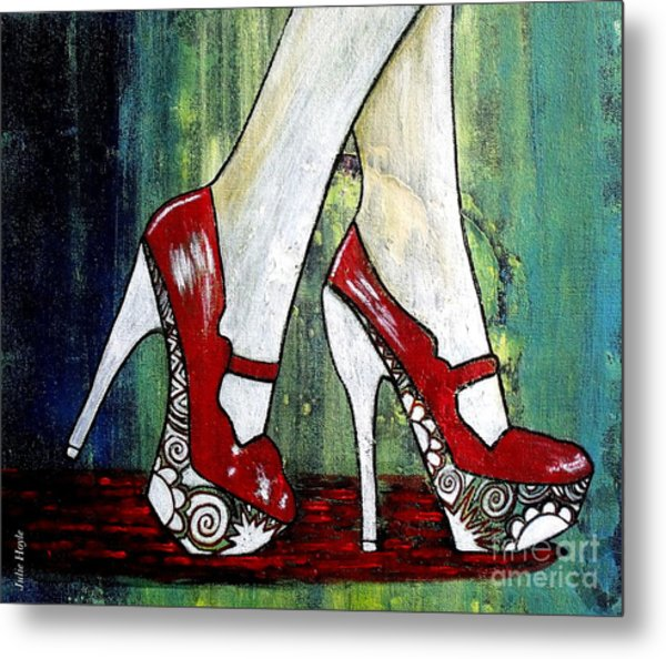 If You Walked In My Shoes Metal Print