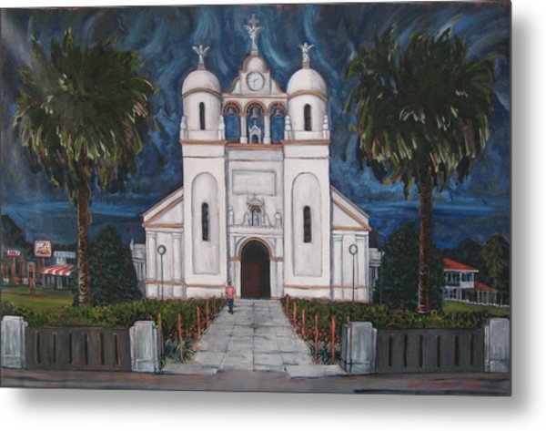 Iglesia Curridabat  Costa Rica Metal Print