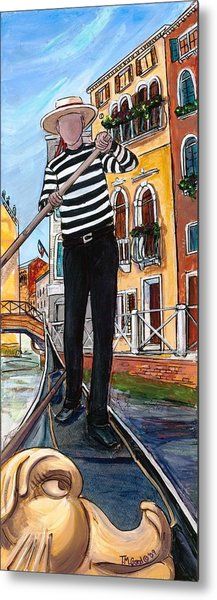 Metal Print featuring the painting Igor by TM Gand
