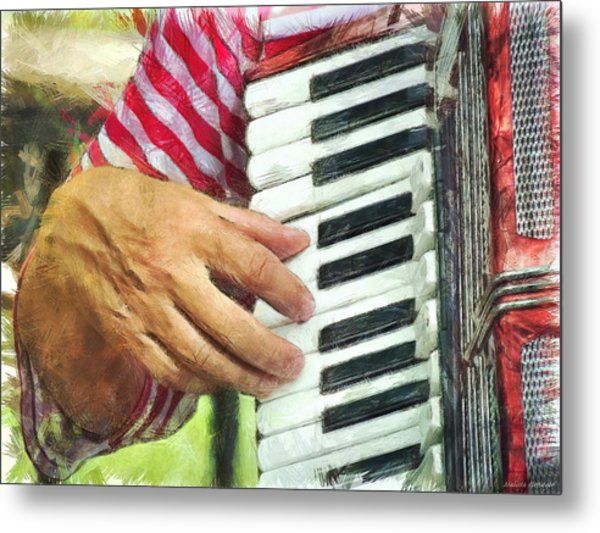 I'll Play For You Metal Print