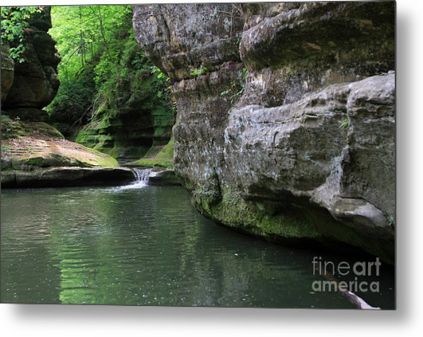 Illinois Canyon May 2014 Metal Print
