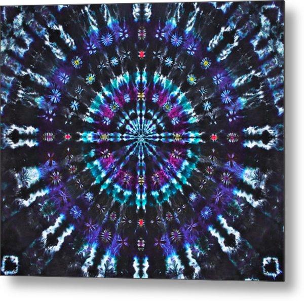 Illuminating Light Metal Print by Courtenay Pollock