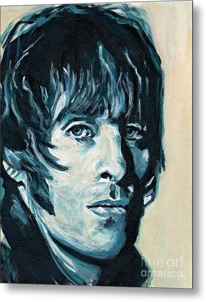 Liam Gallagher Metal Print