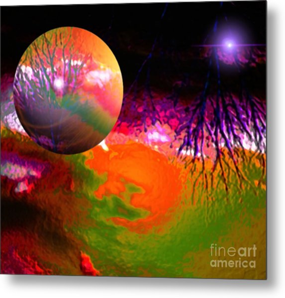 Imagination Gone Wild Metal Print