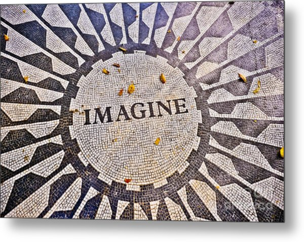 Imagine Metal Print by Stacey Granger