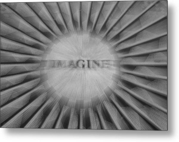 Imagine Zoom Metal Print