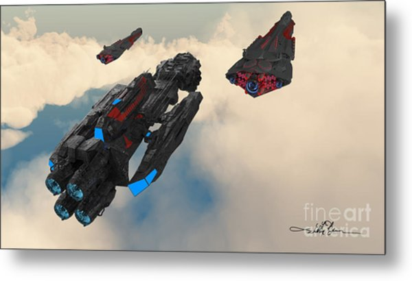 Imperial Fleet Launch Metal Print