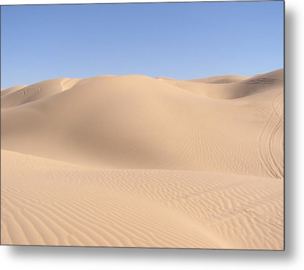 Imperial Sand Dunes Metal Print
