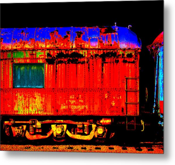Impressionistic Photo Paint Gs 017 Metal Print