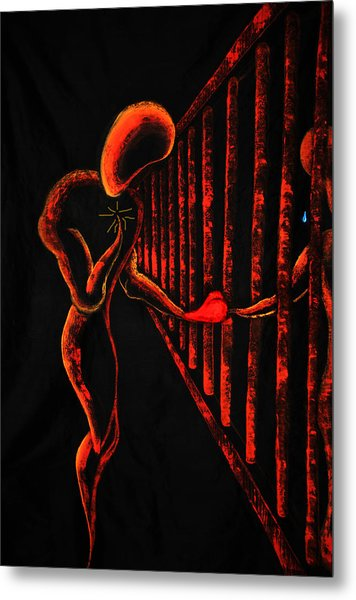 Imprisoned Love Metal Print