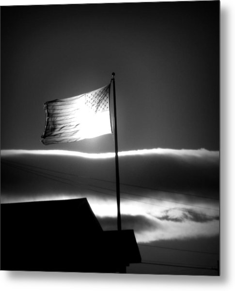 In All Her Glory Metal Print by Jennifer Compton