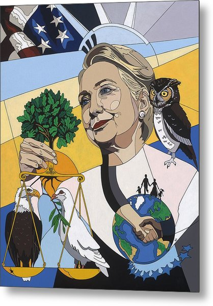 In Honor Of Hillary Clinton Metal Print