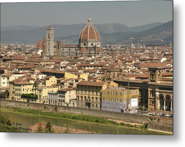 In Love With Firenze - 2 Metal Print