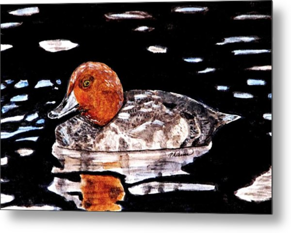 In Love With Redheads Metal Print