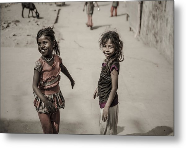 In Omkareshwar Metal Print