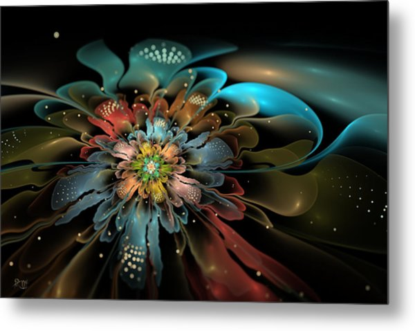 In Orbit Metal Print