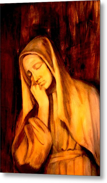 In Prayer Metal Print