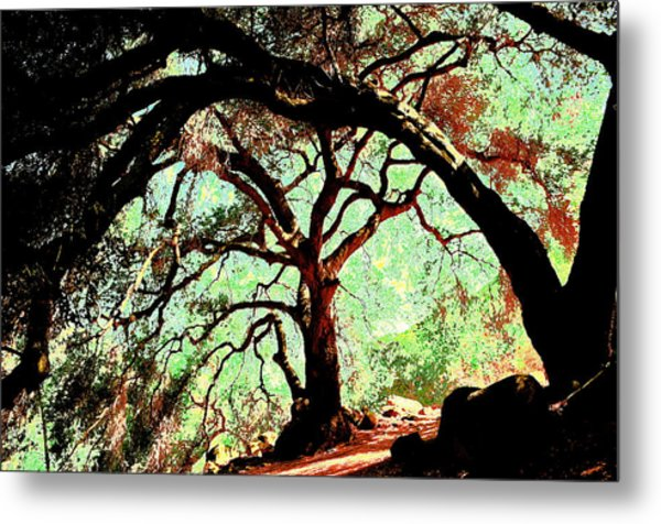 In The Abstract Metal Print