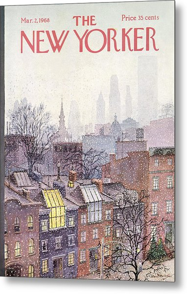 New Yorker March 2, 1968 Metal Print