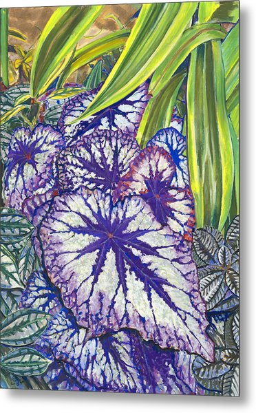 In The Conservatory-7th Center-violet Metal Print