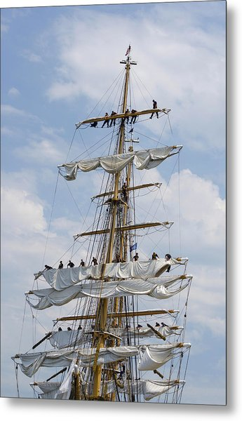 In The Eagle's Rigging Opsail 2012 Metal Print