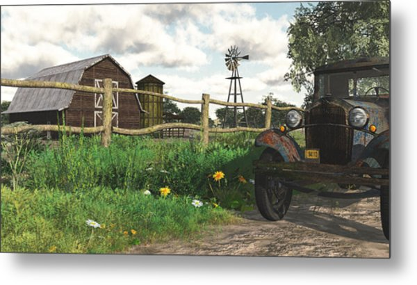 In The Heartland Metal Print