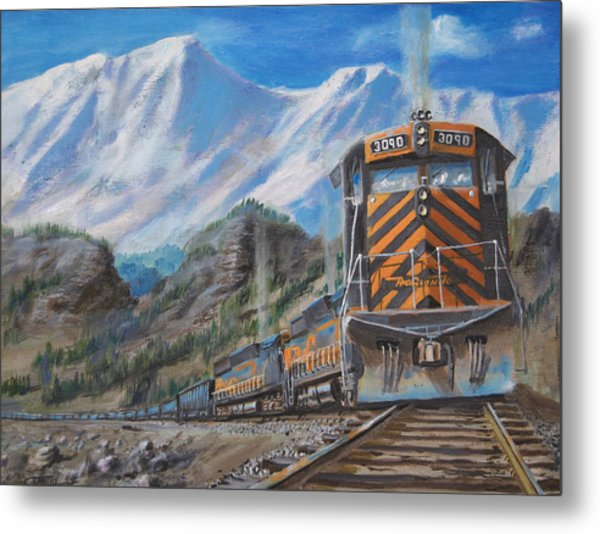 In The High Country  Metal Print