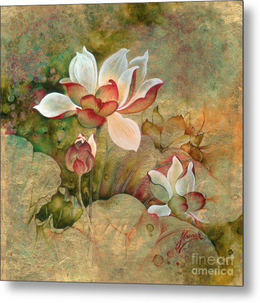 In The Lotus Land Metal Print