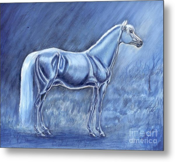 In The Misty Moonlight Metal Print by Ruth Seal