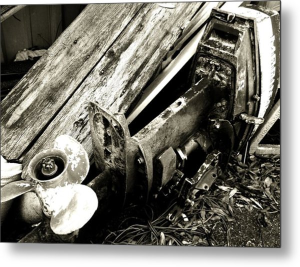 In The Past Metal Print