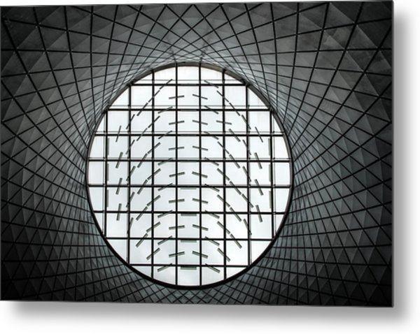 In The Round Metal Print