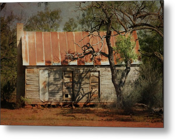 In The Shadow Of Time Metal Print
