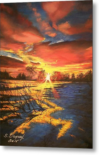 In The Still Of Dawn-2 Metal Print