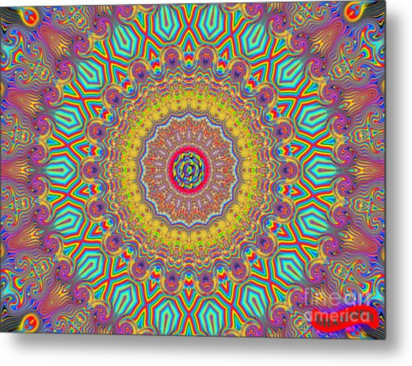 In The Zone Metal Print by Bobby Hammerstone