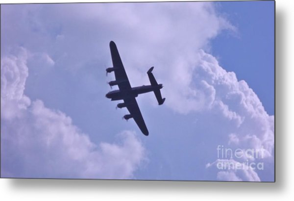 In To The Clouds Metal Print