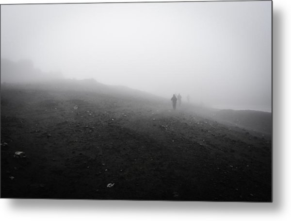 In Wind And Cloud Metal Print