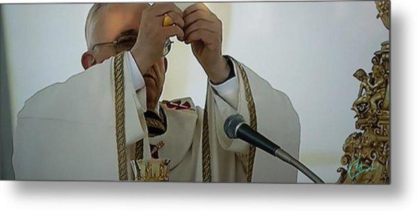 Inauguration Pope Francis Vatican  Rom 19 February 2013  Metal Print