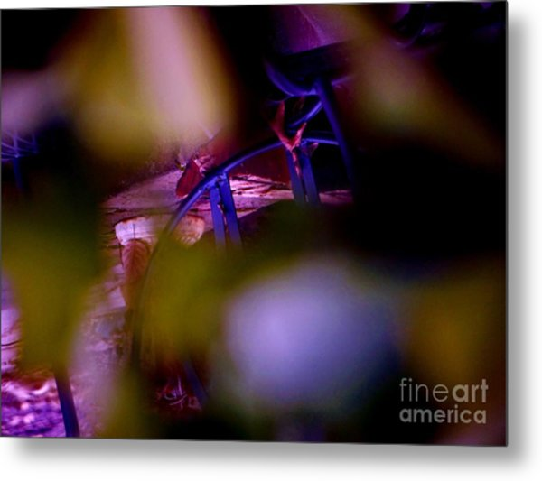 Incripted Metal Print by Sharon Costa