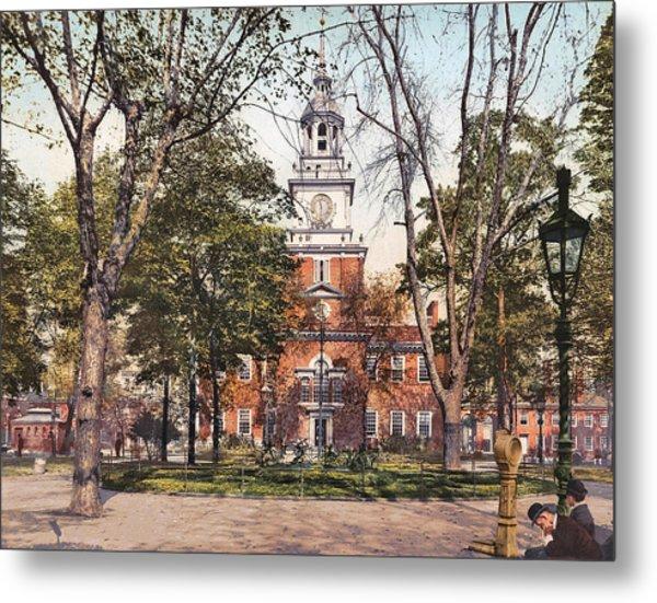Independence Hall 1900 Metal Print